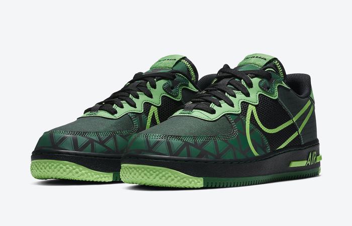 Nike Air Force 1 React Naija CW3918-001 05