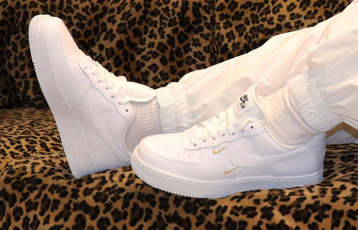 Nike Air Force 1 Swooshes Pack White CT1989-100 on foot 01