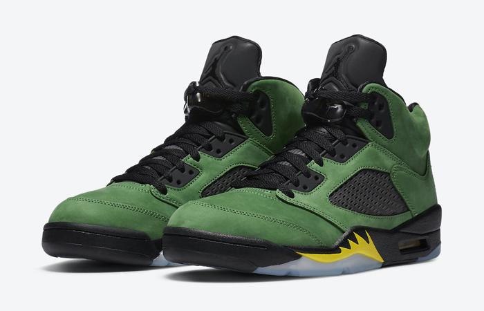 Nike Air Jordan 5 Oregon Green CK6631-307 02
