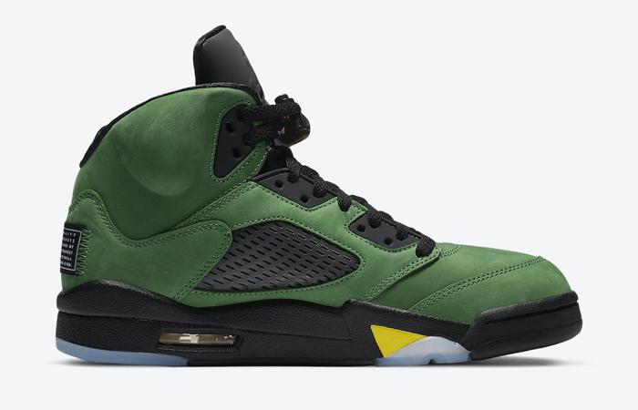 Nike Air Jordan 5 Oregon Green CK6631-307 03