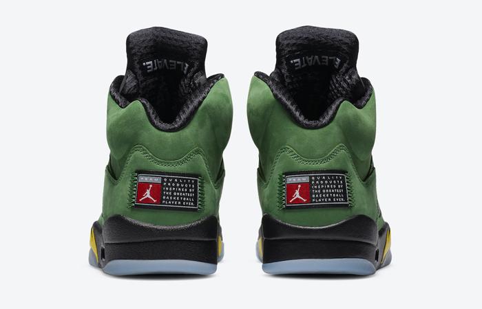 Nike Air Jordan 5 Oregon Green CK6631-307 05
