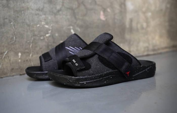 Nike Air Jordan Crater Slide Black Charcoal CT0713-001 02
