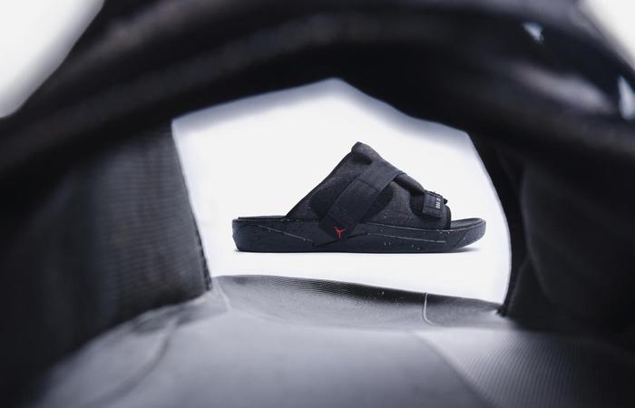 Nike Air Jordan Crater Slide Black Charcoal CT0713-001 03