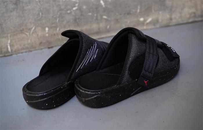 Nike Air Jordan Crater Slide Black Charcoal CT0713-001 04