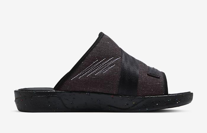 Nike Air Jordan Crater Slide Black Charcoal CT0713-001 06