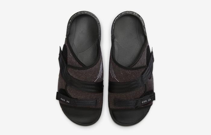 Nike Air Jordan Crater Slide Black Charcoal CT0713-001 07