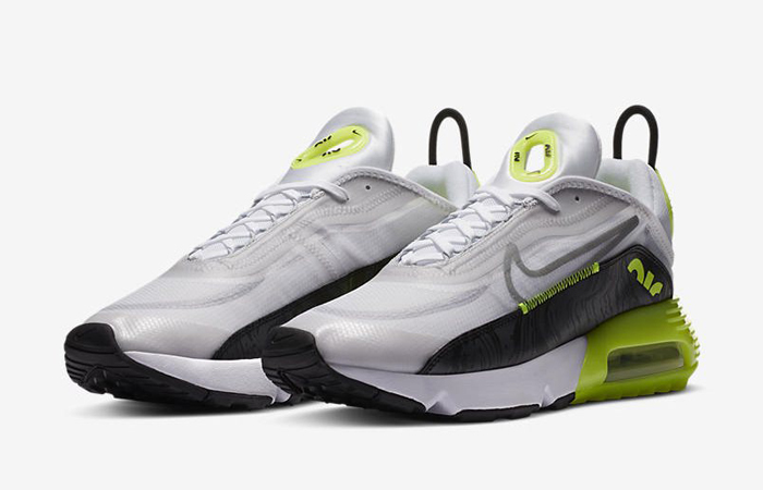Nike Air Max 2090 Cool Grey Volt CZ7555-100 02