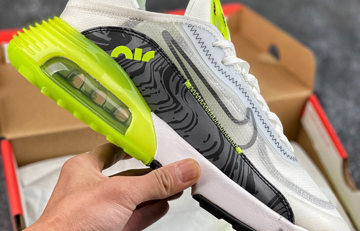 Nike Air Max 2090 Cool Grey Volt CZ7555-100 06