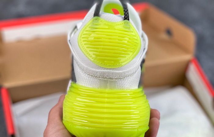 Nike Air Max 2090 Cool Grey Volt CZ7555-100 08