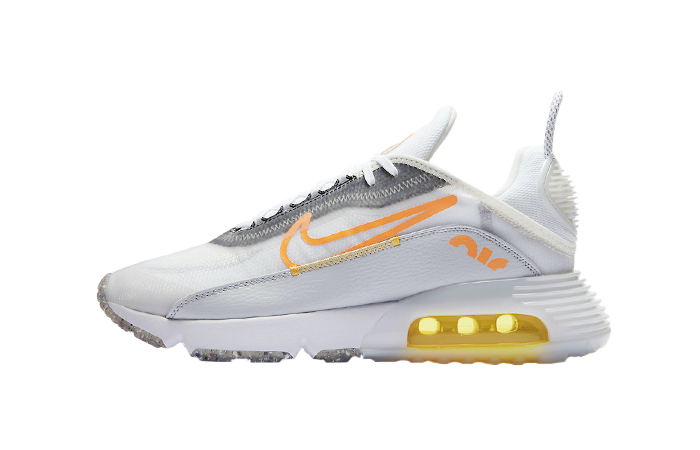 Nike Air Max 2090 White Laser Orange DA1502-100 01