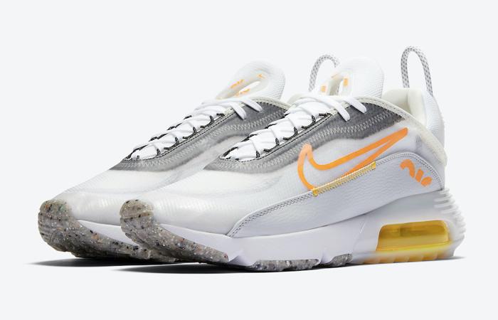 Nike Air Max 2090 White Laser Orange DA1502-100 02