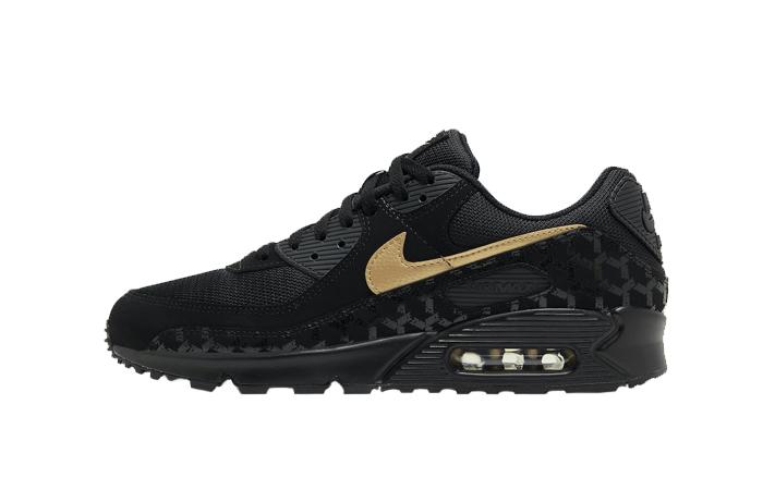 Nike Air Max 90 Black Gold DC4119-001 01