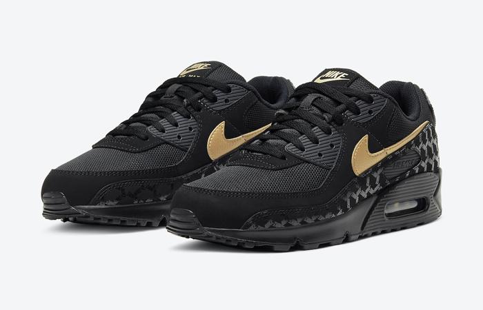Nike Air Max 90 Black Gold DC4119-001 02