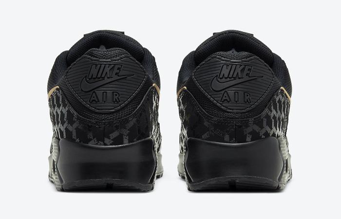Nike Air Max 90 Black Gold DC4119-001 05