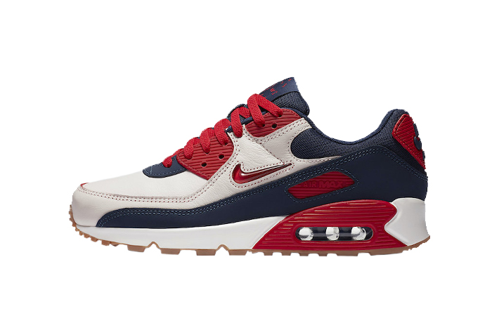 Nike Air Max 90 Home and Away Red Royal Blue CJ0611-101 01