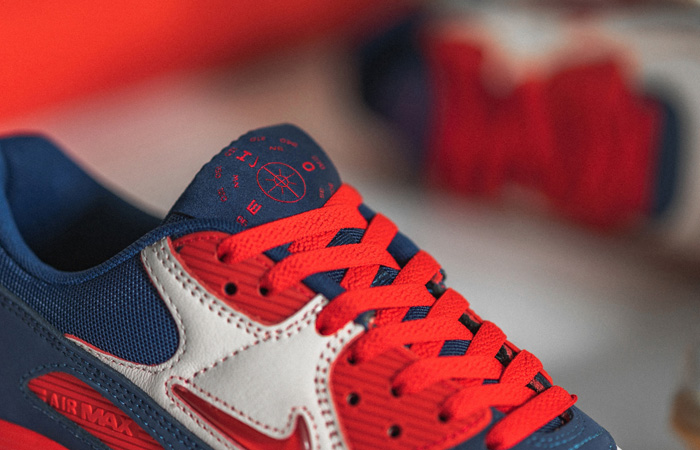 Nike Air Max 90 Home and Away Red Royal Blue CJ0611-101 03