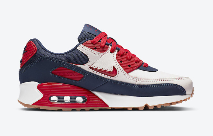 Nike Air Max 90 Home and Away Red Royal Blue CJ0611-101 06