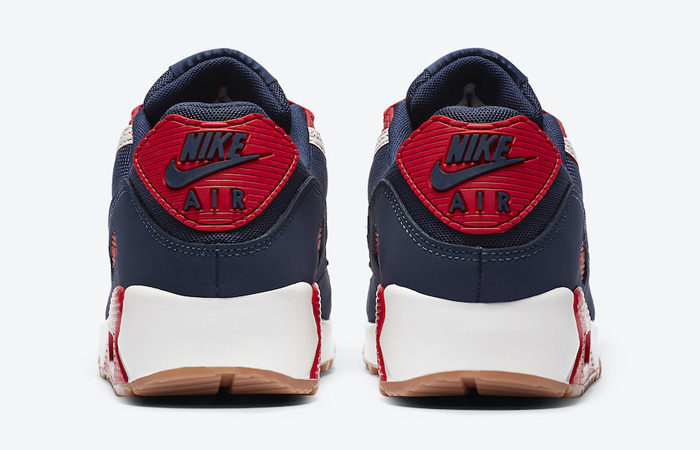 Nike Air Max 90 Home and Away Red Royal Blue CJ0611-101 08