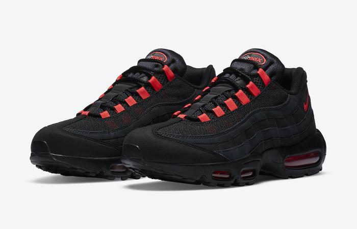 Nike Air Max 95 Black Laser Crimson DA1513-001 02