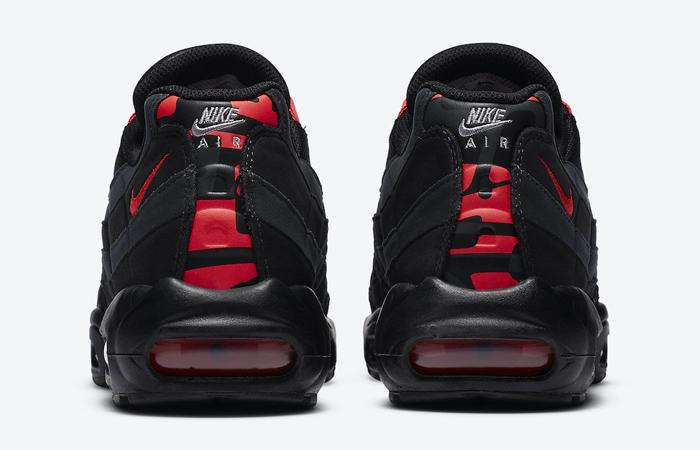 Nike Air Max 95 Black Laser Crimson DA1513-001 05