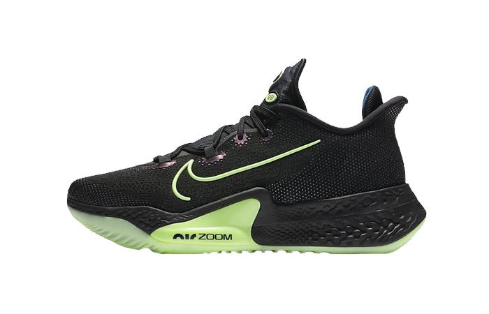 Nike Air Zoom Bb Next% Black Lime Ck5707-001 01