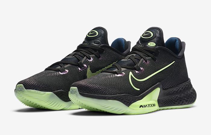Nike Air Zoom Bb Next% Black Lime Ck5707-001 02