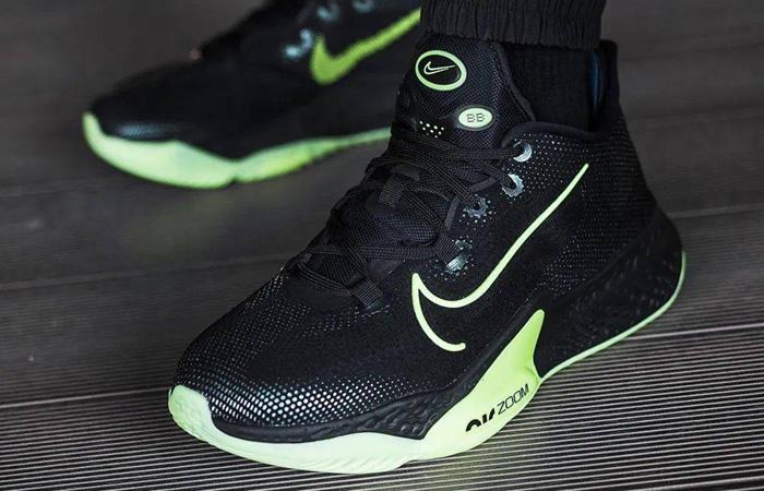 Nike Air Zoom Bb Next% Black Lime Ck5707-001 06