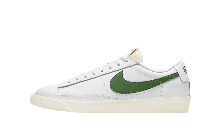 Nike Blazer Low Leather Forest Green CI6377-108 01