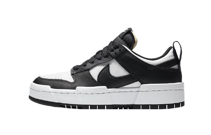 Nike Dunk Low Disrupt Black White CK6654-102 01
