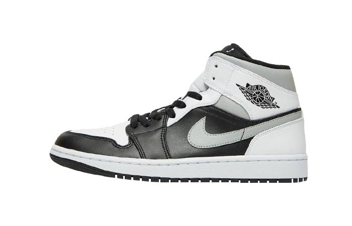 Nike Jordan 1 Mid Black Smoke Grey