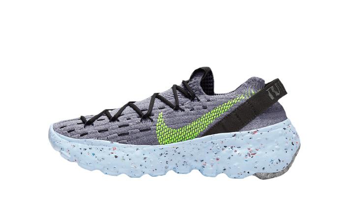 Nike Space Hippie 04 Dark Smoke Grey Volt CZ6398-001 01