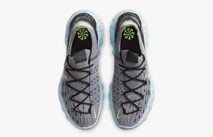 Nike Space Hippie 04 Dark Smoke Grey Volt CZ6398-001 04
