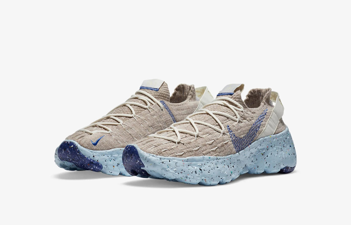 Nike Space Hippie 04 Sail Fossil CD3476-101 03