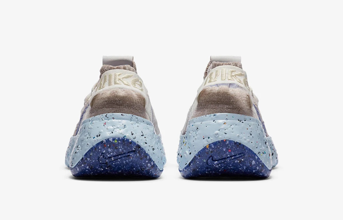 Nike Space Hippie 04 Sail Fossil CD3476-101 05