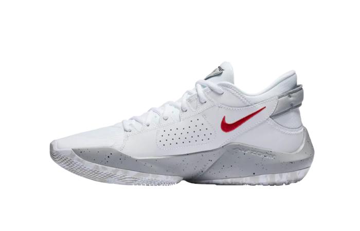 Nike Zoom Freak 1 White Red CK5424-100 01