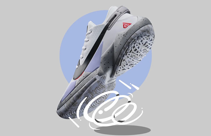Nike Zoom Freak 1 White Red CK5424-100 06