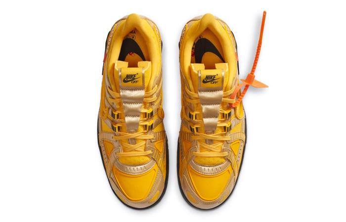 Off-White Nike Rubber Dunk University Gold CU6015-700 03