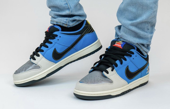 Official Look At The Instant Skateboards Nike SB Dunk Low ft