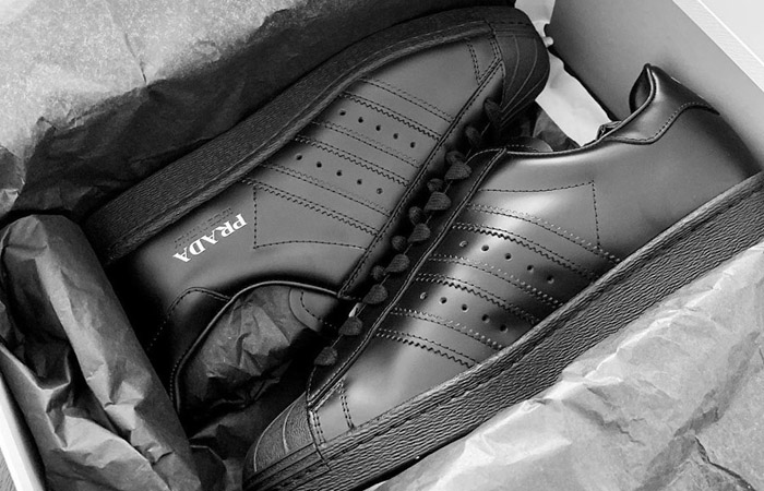 Prada adidas Superstar Core Black FW6679 02