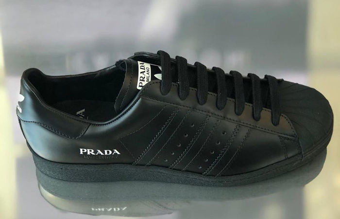 Prada adidas Superstar Core Black FW6679 04
