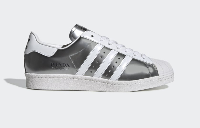 Prada adidas Superstar Metallic Silver FX4546 05