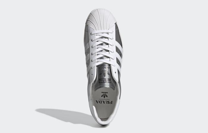 Prada adidas Superstar Metallic Silver FX4546 06