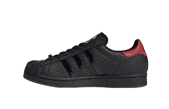 Star Wars adidas Superstar Black Red FX9302 01