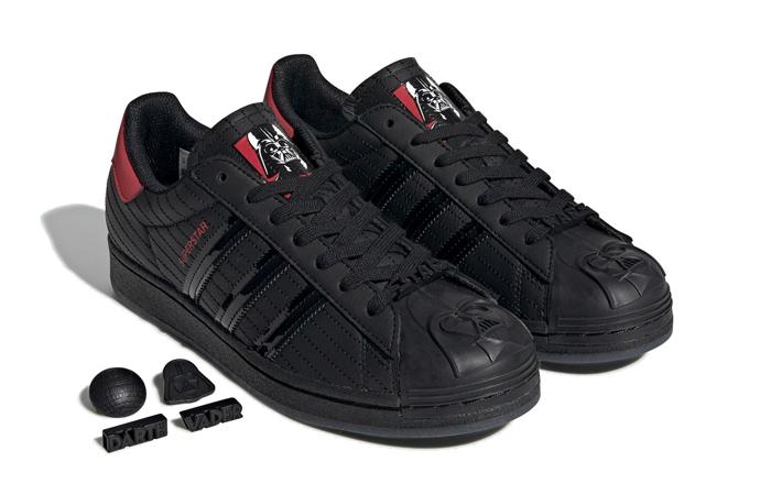 Star Wars adidas Superstar Black Red FX9302 02