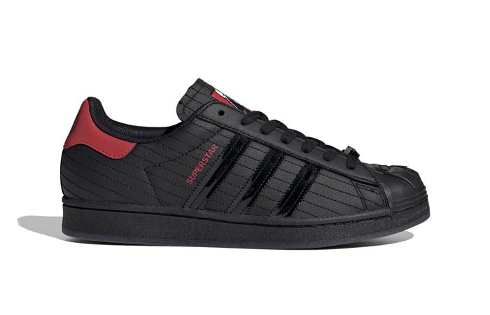 Star Wars adidas Superstar Black Red FX9302 03