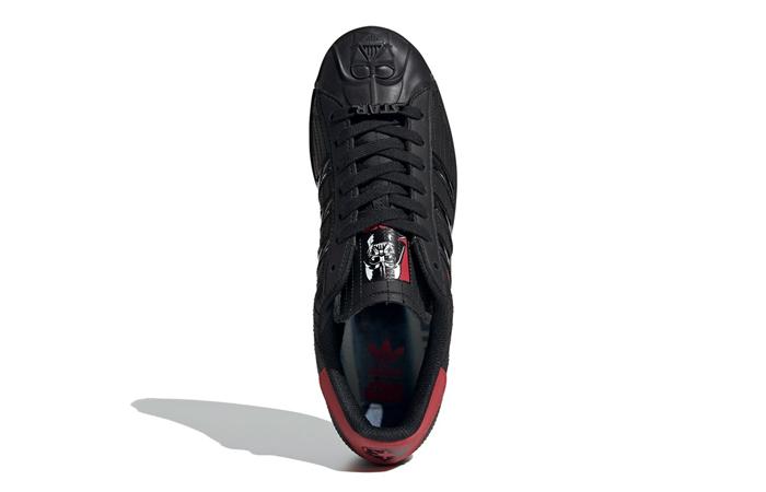 Star Wars adidas Superstar Black Red FX9302 04