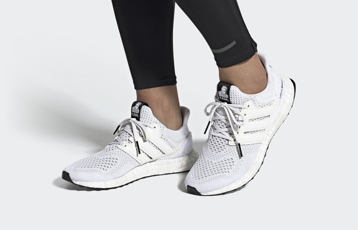 Star Wars adidas Ultraboost DNA Cloud White FY3499 on foot 01