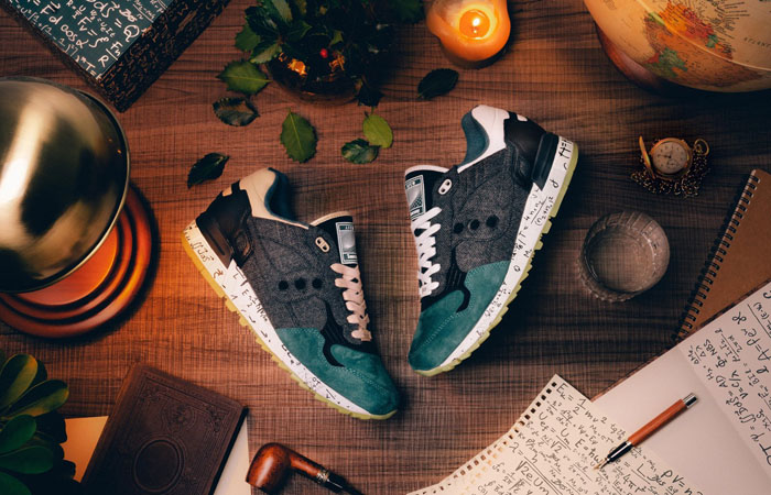 The Upcoming Collaboration Of AFEW And Saucony Pays Homage to Albert Einstein f