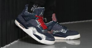 These Are The First On-Foot Snaps Of Air Jordan 4 SE Sashiko