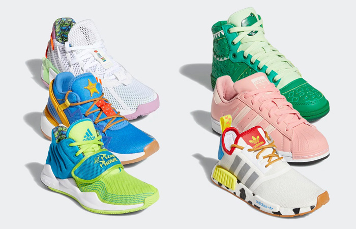 Toy Story And adidas Join Hands For Kids Collection With The Headline Of Dame 7 f